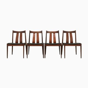 Danish Dining Chairs from Bramin, 1960s, Set of 4
