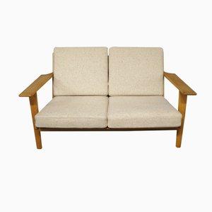 Sofá de dos plazas GE 290 de Hans J. Wegner para Getama, años 60