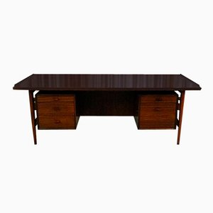 Danish Rosewood Executive Desk by Arne Vodder for Sibast, 1960s