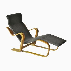 Modernist Plywood Long Chair by Marcel Breuer, 1960s