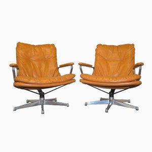 Swiss Gentilina Lounge Armchairs by André Vandenbeuck for Strässle, 1960s, Set of 2