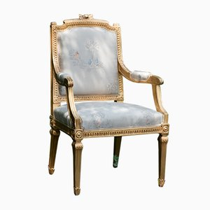 Vintage Swedish Gustavian Armchair