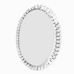 Specchio ovale illuminato di Emil Stejnar