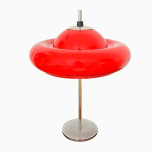 German UFO Sputnik Table Lamp, 1970s