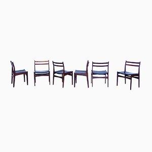 Chaises de Salon en Teck de Frem Røjle, Danemark, 1960s, Set de 6