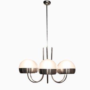 Lámpara de araña italiana de Sergio Mazza para Artemide, años 60