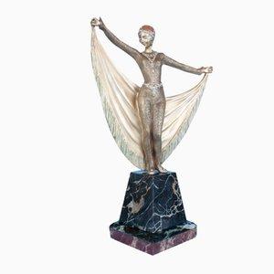Statue Art Déco en Bronze par Henri Grisard, France, 1920s