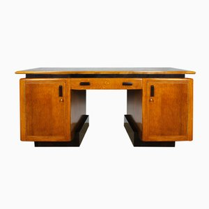 Amsterdam School Oak Desk, 1920s