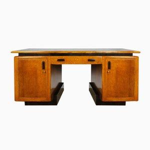 Amsterdamer Schule Eichenholz Tisch, 1920er
