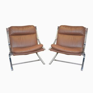 Zeta Chairs by Paul Tuttle for Strassle of Switzerland, 1960s, Set of 2