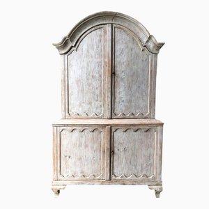 Antique Swedish Rococo Cabinet