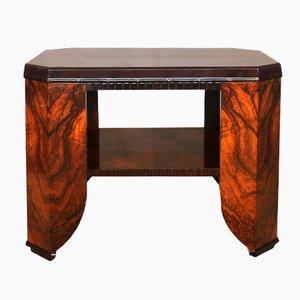 Französischer Art Deco Tisch aus Palisander & Nussholz, 1920er