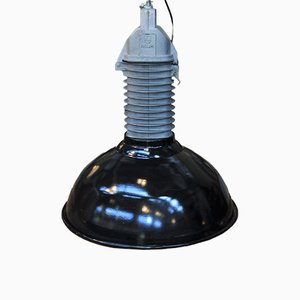 Industrial Factory Pendant Light from Philips, 1950s