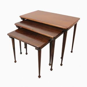 Mid-Century Danish Rosewood Nesting Tables