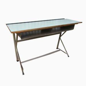 Belgian Industrial School Desk from Elbe, 1960s