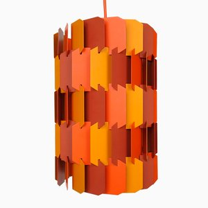 Lampe à Suspension Facet-Pop par Louis Weisdorf pour Lyfa, 1970