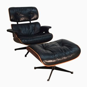 Lounge Chair and Ottoman by Charles Eames for Vitra