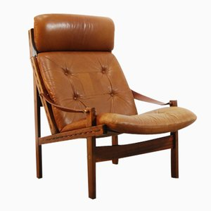 Scandinavian Lounge Safari Chair by Torbjørn Afdal for Bruksbo Tegnekontoret, 1962