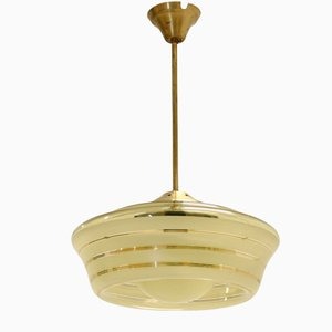 Scandinavian Functionalist Ceiling Light, 1950s