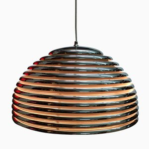 German Large Saturno Lamp by Kazuo Moto for Staff, 1972