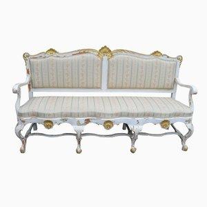 Swedish Rococo Sofa, 1850s