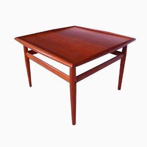 Table Basse Mid-Century en Teck par Grete Jalk pour Glostrup, Danemark, 1960s