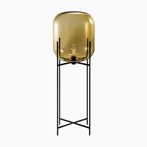 Oda Big in Amber and Black by Sebastian Herkner for Pulpo