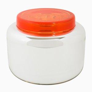 Container Low Blanc et Rouge Coquelicot par Sebastian Herkner pour Pulpo