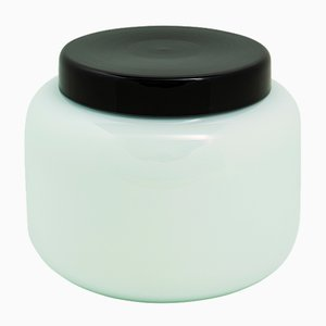 Container Low in Celadon Green and Black by Sebastian Herkner for Pulpo
