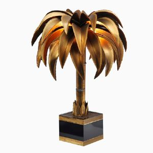 French Palm Tree Lamp from Maison Jansen, 1970