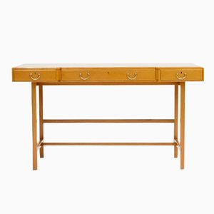 Mahogany Desk by Josef Frank for Svenskt Tenn, 1950s