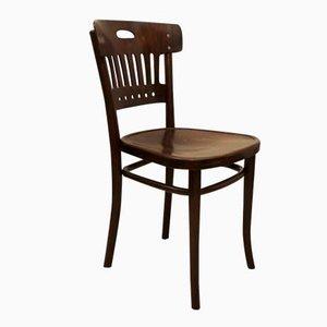 Chaise d'Appoint Vintage en Bois de Hêtre et en Contreplaqué de Thonet