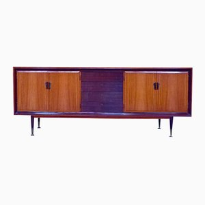 Italian Vintage Rosewood Credenza, 1950s