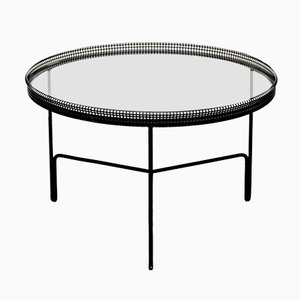 French Metal Coffee Table by Mathieu Matégot, 1950s
