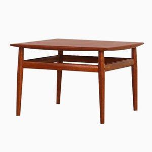 Tavolino da caffè di Grete Jalk per Glostrup Møbelfabrik, Danimarca, anni '50