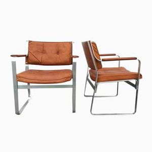 Sedie Mondo di Karl Erik Ekselius per JOC, Svezia, anni '60, set di 2