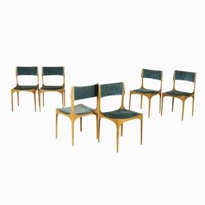 Esszimmerstühle von Giuseppe Gibelli für Sormani, 1960er, 6er Set