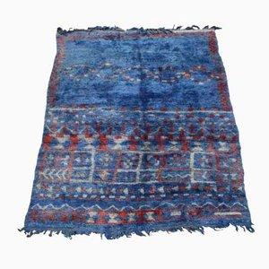 Vintage Moroccan Beni Mguild Carpet, 1970s