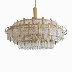 Mid-Century Large Chandelier, 1960s