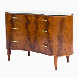 Swedish Mahogany Chest of Drawers from Bodafors, 1940s
