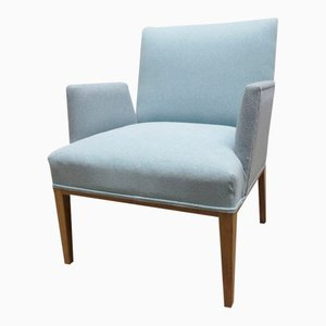Scandinavian Armchair with Freestanding Armrests, 1950s