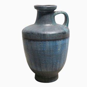 Große Deutsche Vintage Vase mit Henkel von Glatzle für Karlsruher Majolika, 1963
