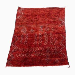 Vintage Moroccan Zaiane Carpet, 1980s