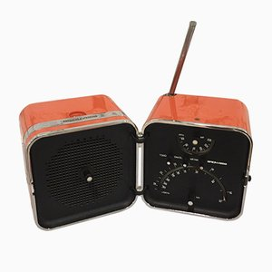 Italian TS 502 Transistor Radio by Marco Zanuso and Richard Sapper for Brionvega, 1960s