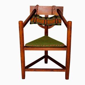 Schwedischer Dreifuß Sessel, 1920er