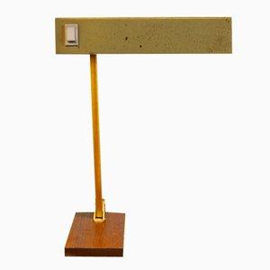 Lámpara de mesa alemana ajustable de latón de Pfäffle-Leuchten, años 50