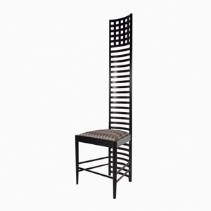 XL Edition Hill House Ladderback Chair by Charles Rennie Mackintosh for Cassina, 1980s