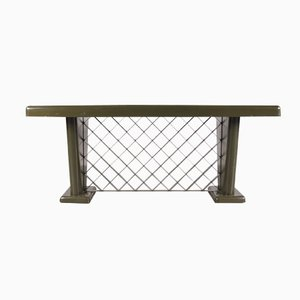 Deutscher Art Deco Metall Tisch, 1930er
