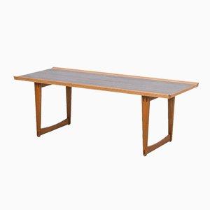 Table Basse en Chêne et en Teck par Yngve Ekström pour Westbergs, Suède, 1950s