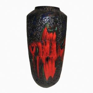 Grand Vase Fat Lava de Scheurich, Allemagne, 1950s
